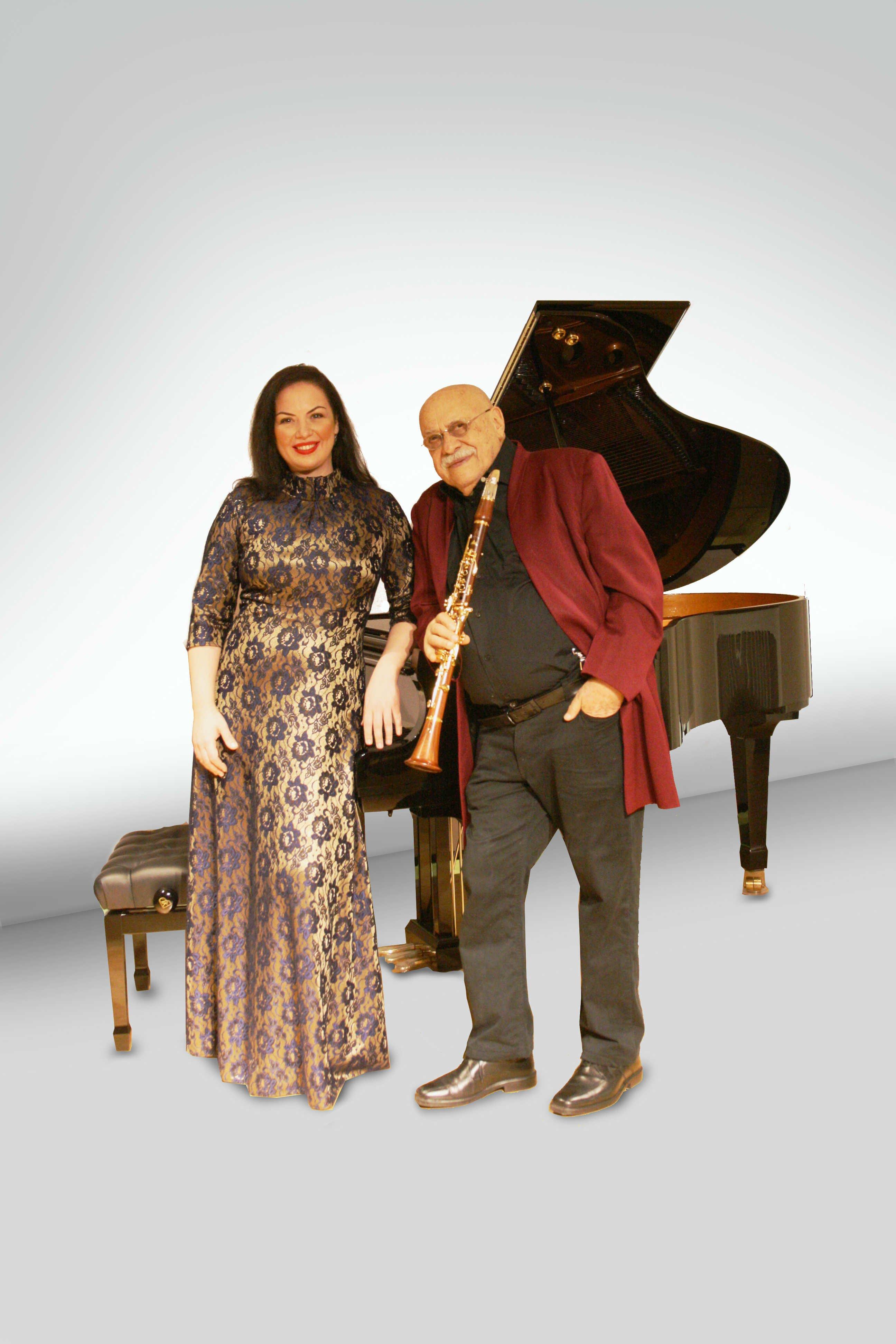 Giora Feidman & Alina Kabanova
