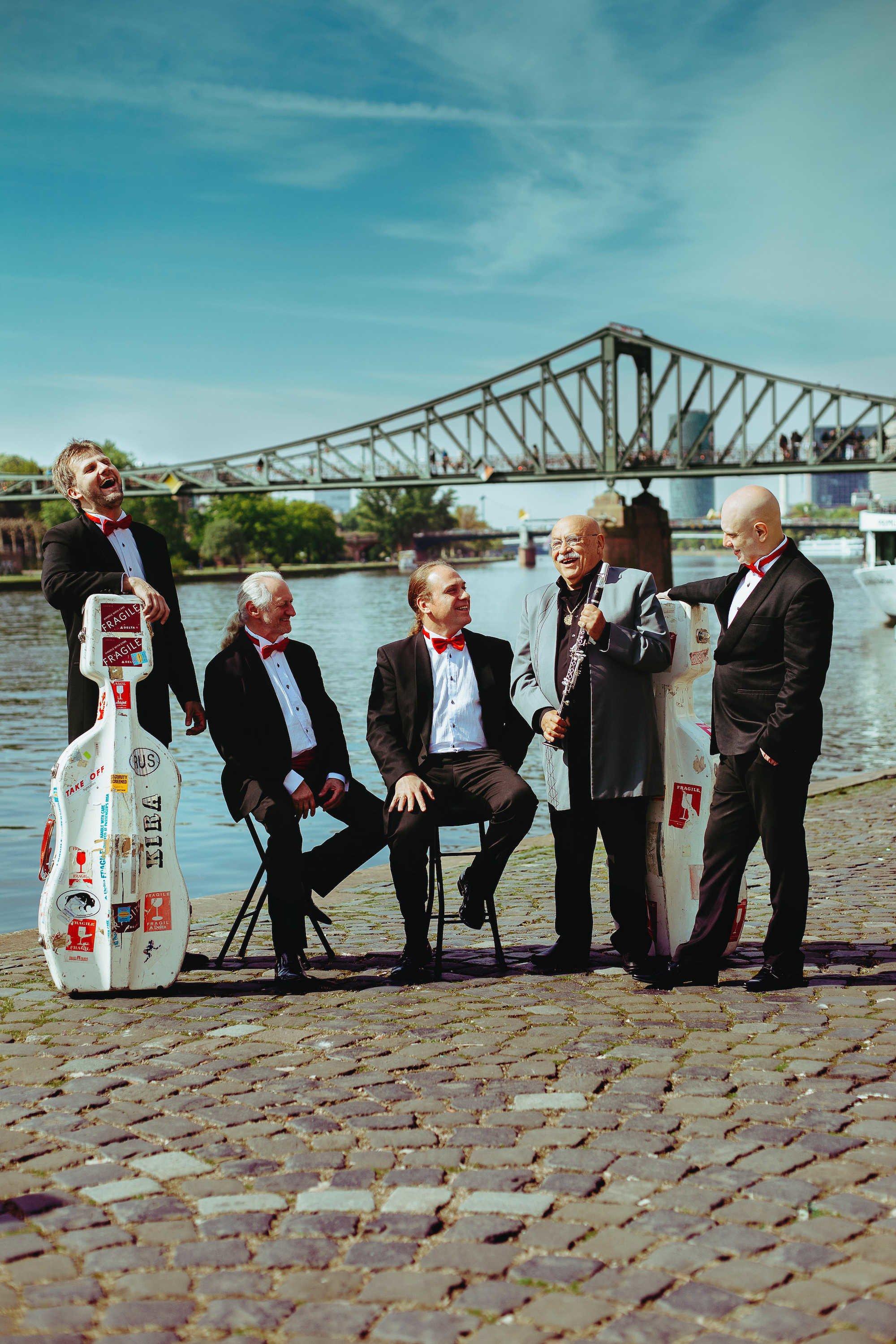 Giora Feidman und Rastrelli Cello Quartett