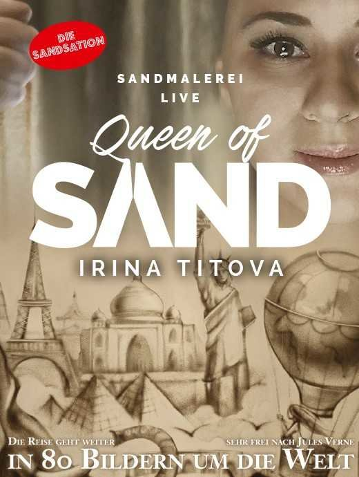 Irina Titova Queen of Sand